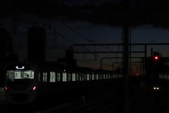 2019年1月1日 6時12分ころ、練馬、38103Fの上り回送列車。