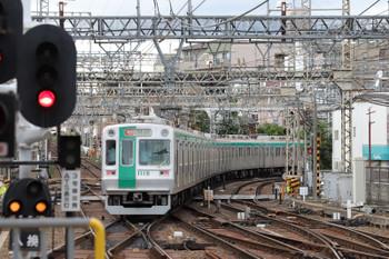 2018年10月6日 14時9分ころ、大和西大寺、京都市交10系の急行 国際会館ゆき。