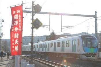 2019年1月14日、元加治、40104Fの西武秩父ゆきS-Trainの401レ。