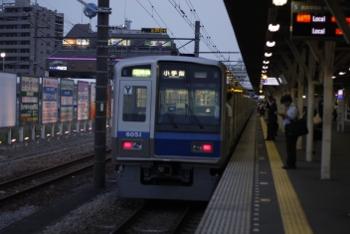 2009年7月16日、所沢、4865レの6151F。