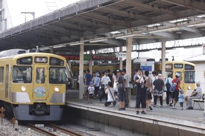 2010年8月28日 9時42分頃、新所沢、1番ホームに2629レが到着。