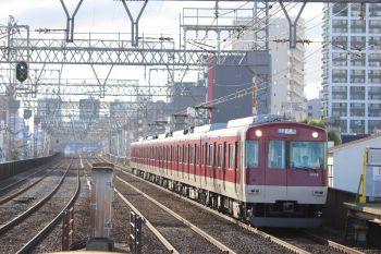 2018年10月6日 16時5分、今里、普通列車で奈良へ戻る3102ほかの3200系。
