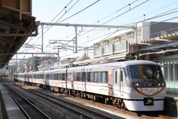 2019年1月20日、中井、通過する10104Fの120レ。