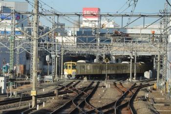 2019年1月20日 15時ころ、所沢、発車した下り列車の車内から。