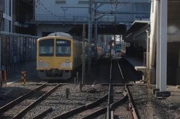 2019年1月26日 9時43分ころ、所沢、6番線に留置中の263F+1253F。