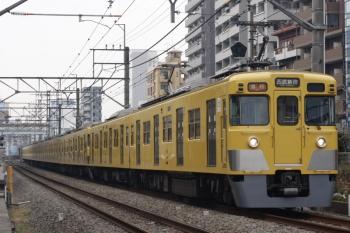 2019年1月31日、高田馬場~下落合、2403F+2007Fの2644レ。