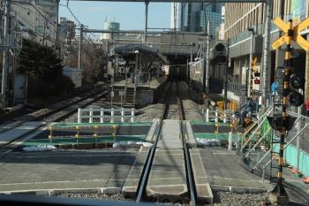 2019年2月3日 13時20分ころ、大泉学園駅。