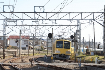 2019年2月3日 10時51分ころ、新秋津~所沢、263F+001系B編成。