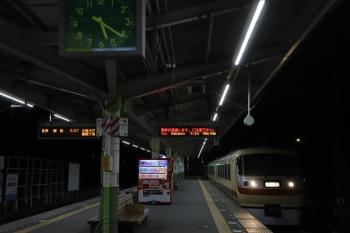 2019年2月23日 5時21分ころ。元加治。10105Fの上り回送列車が通過。