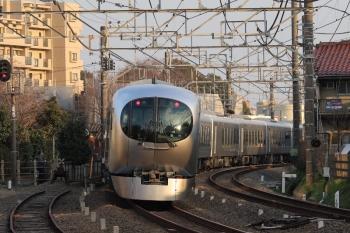 2019年3月2日 16時31分ころ。清瀬~東久留米。001-A編成の上り臨時列車。1番ホームを通過しました。