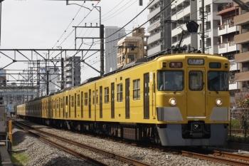 2019年3月19日。高田馬場〜下落合。2419F+2003Fの2332レ。