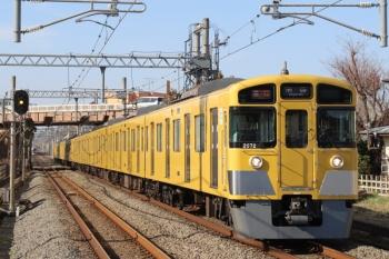 2019年3月21日。武蔵藤沢。2071F+2465Fの2154レ。左奥に001-A編成の67レが見えます。