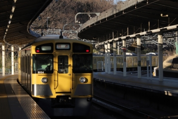 2019年3月21日。入間市。通過する9104Fの上り回送列車。