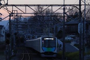 2019年3月21日。元加治。40000系の元町・中華街ゆきS-Trainの404レ。
