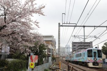 2019年3月31日 10時59分ころ。池袋〜椎名町。4009F(52席)の下り列車。
