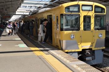 2019年4月13日。秋津。到着した2061Fの4310レ。