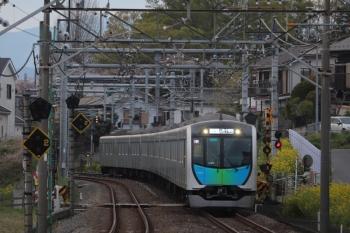 2019年4月14日。元加治。40000系の上りS-Train 404レ。