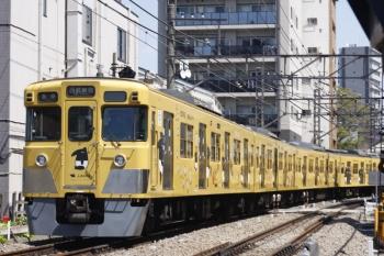 2019年4月18日。高田馬場〜下落合。お昼の5128レも2007F。
