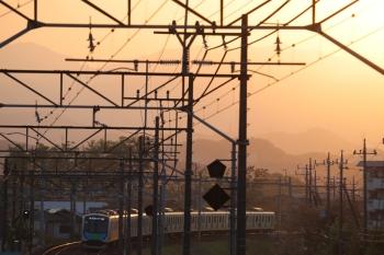 2019年4月20日。仏子〜元加治。40101FのS-Train 404レ。