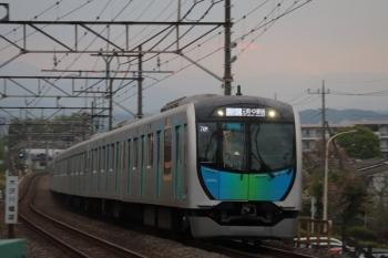 2019年4月21日。仏子〜元加治。40104FのS-Train 404レ。