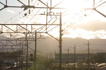 2019年4月27日。仏子〜元加治。4017F+4023Fの2004レ。