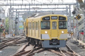 2019年5月3日 7時15分ころ。飯能。2073Fの上り回送列車。この後、5009レになりました。