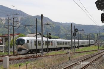 2019円5月3日 13時6分ころ。西武秩父。発車した001-A編成の上り回送列車。