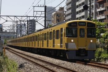2019年5月24日。高田馬場〜下落合。2061F+2401Fの2644レ。