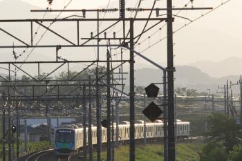2019年5月25日。仏子〜元加治。40102Fの404レ S-Train。