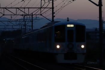 2019年5月25日 18時56分ころ。仏子〜元加治。4009Fの上り「旅するレストラン」。