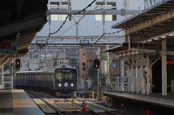 2019年5月26日 5時30分ころ。所沢。20105Fの上り回送列車。