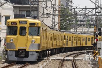 2019年5月27日。高田馬場〜下落合。2407F+2003Fの2332レと山手線のE235系。