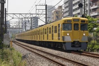 2019年5月27日。高田馬場〜下落合。2007Fの5128レ。