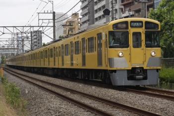 2019年6月5日。高田馬場〜下落合。2061F+2457Fの2642レ。
