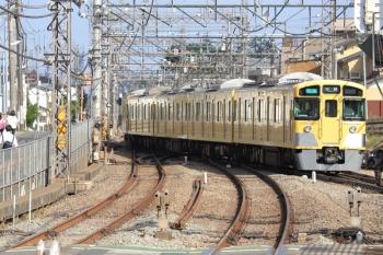 2019年6月8日。西所沢。2番ホームから発車した2513F+2501Fの4354レ。