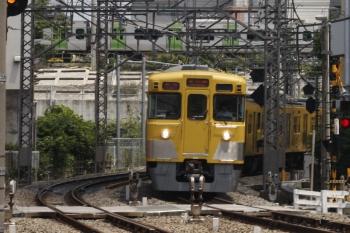 2019年6月13日。高田馬場〜下落合。2413F+2001Fの2645レ。