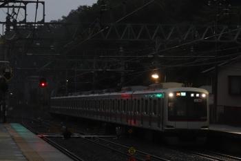 2019年6月23日。仏子。東急5151Fの3701レ。5分ほどの遅れ。