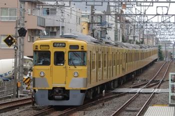 2019年7月5日。井荻。2403F+2061Fの2754レ。上の写真の列車の反対側です。