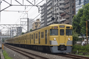 2019年7月18日。高田馬場〜下落合。2409F+2059Fの2644レ。
