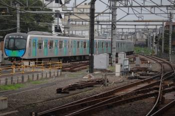 2019年7月21日 16時26分ころ。所沢。40105Fの上り回送列車。