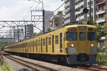 2019年8月7日。高田馬場〜下落合。2403F+2095Fの2644レ。