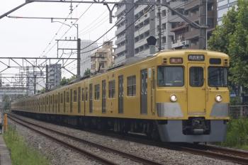 2019年8月16日。高田馬場〜下落合。2007F+2405Fの2644レ