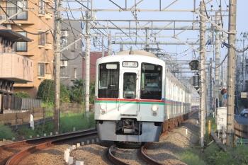 2019年8月17日。所沢〜西所沢。4021F+4005Fの1001レ送り込み回送列車。