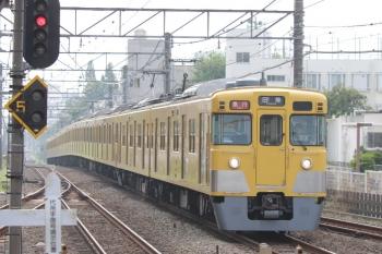 2019年8月19日。東伏見。2401F+2065Fの田無ゆき急行2101レ。
