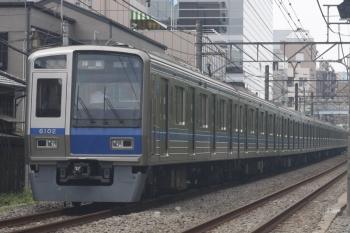 2019年8月20日。高田馬場〜下落合。6102Fの2323レ。