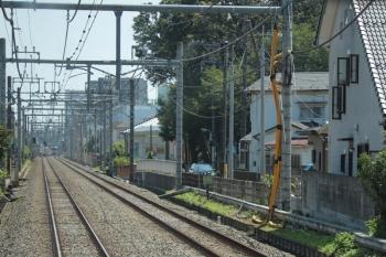 2019年8月25日。秋津〜清瀬。上り列車からの風景。