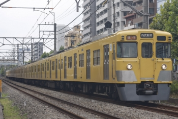 2019年8月26日。高田馬場〜下落合。2007F+2409Fの2332レ。