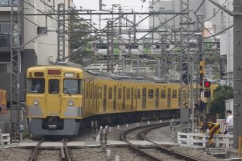 2019年8月26日。高田馬場〜下落合。2001F+2453Fの2644レ。