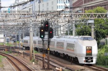 2019年9月7日 10時51分ころ。池袋。E651系の特急「あかぎ号」新宿ゆき。