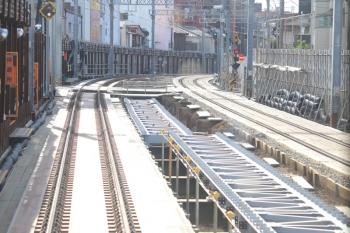 2019年9月7日。沼袋〜野方駅間。下り列車から。